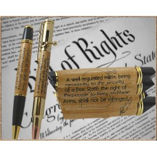 2nd Amendment Inlay Pen