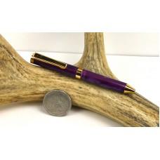 Deep Purple Credit Card Pen