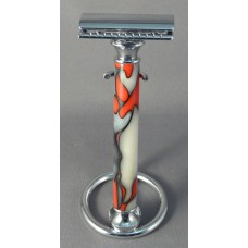 Hot Fire and Cold Ice Acrylic Safety Razor Handle