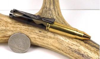 Woodland Camo 7.62x39mm Rifle Cartridge Pen